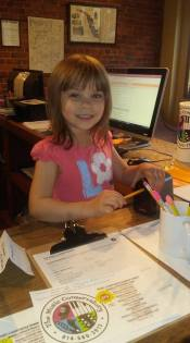 Clarabella Glarner Teacher's Helper